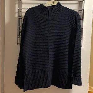 Topshop Navy Sweater Size 4